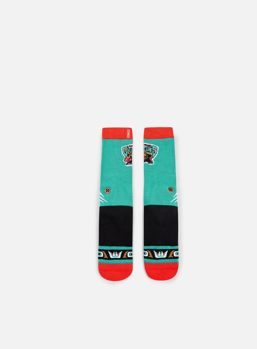 Stance - Vancouver Grizzlies HWC Crew Socks, Teal