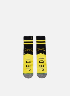 Stance - Varsity Jedi Star Wars Socks, Yellow 1