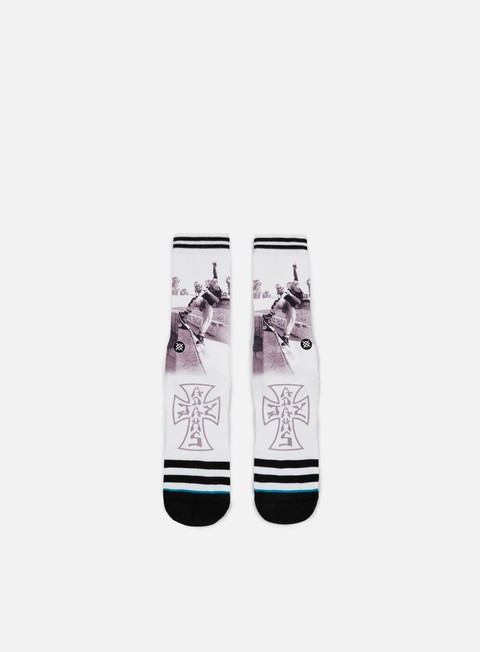 accessori stance venice skate jay adams crew socks white
