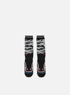 Stance - Warhawk Crew Socks, Black 1