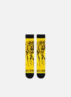 Stance Welcome Wolves Crew Socks