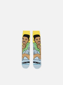 Stance - Will Always Fresh Anthem Crew Socks, Yellow 1