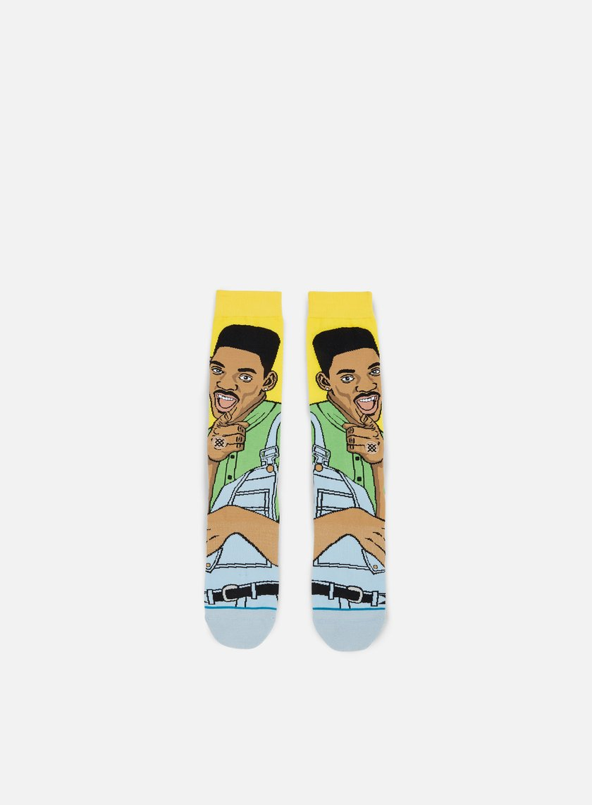 Stance - Will Always Fresh Anthem Crew Socks, Yellow