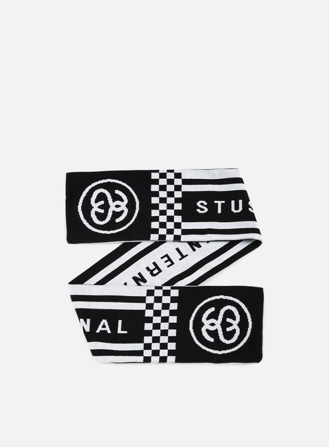 accessori stussy hooligan scarf black