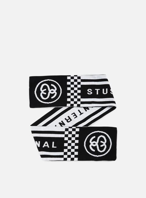 accessori stussy hooligan scarf black