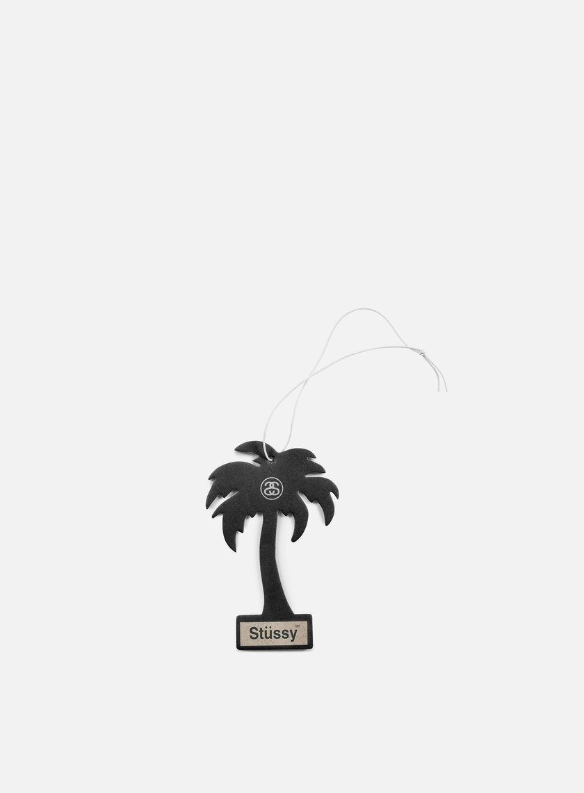 Stussy - Palm Tree Air Freshener, Black