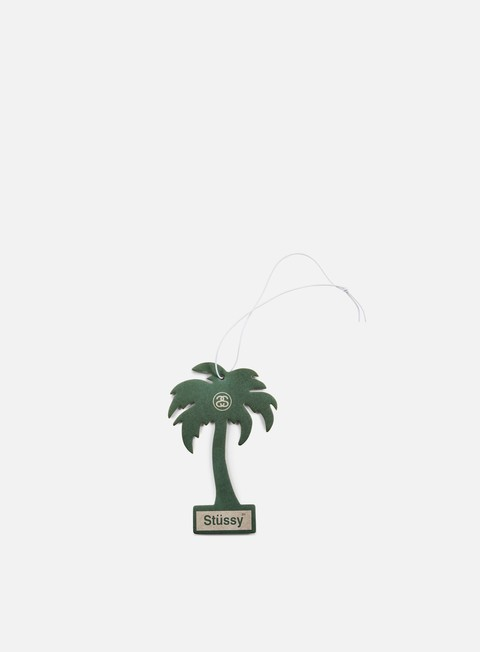 accessori stussy palm tree air freshener green