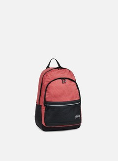 Stussy - Ripstop Nylon Backpack, Red