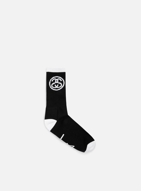 accessori stussy ss link socks black
