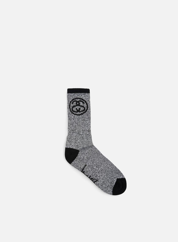 Stussy - SS Link Socks, Black/White