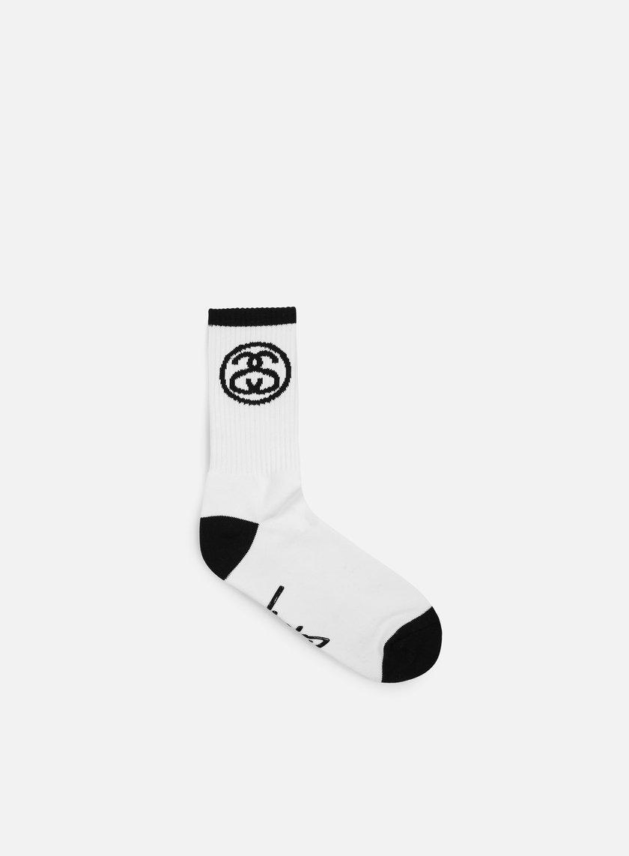 Stussy - SS Link Socks, White