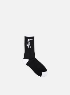 Stussy - Stock Socks, Black