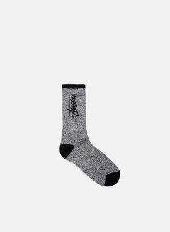 Stussy - Stock Socks, Black/White 1