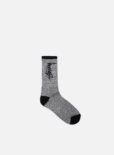 accessori stussy stock socks black white