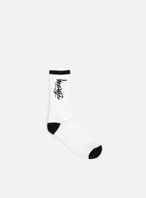 accessori stussy stock socks white