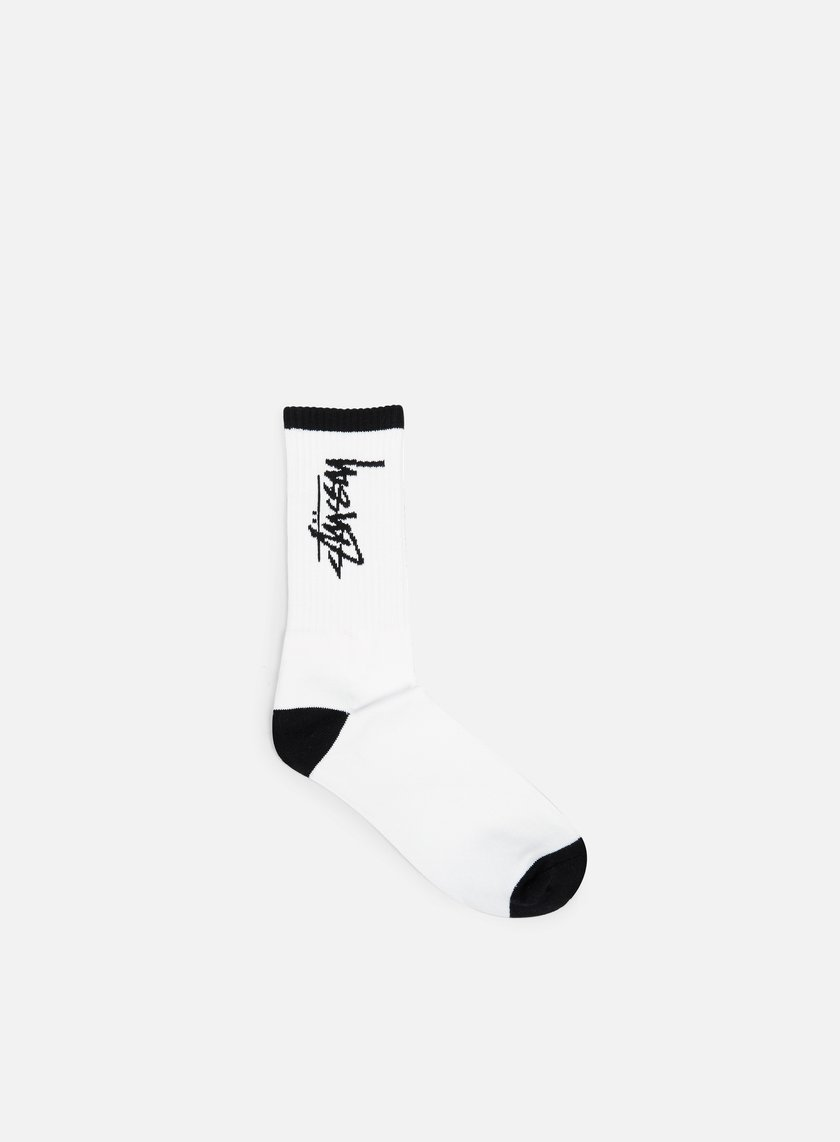 Stussy - Stock Socks, White