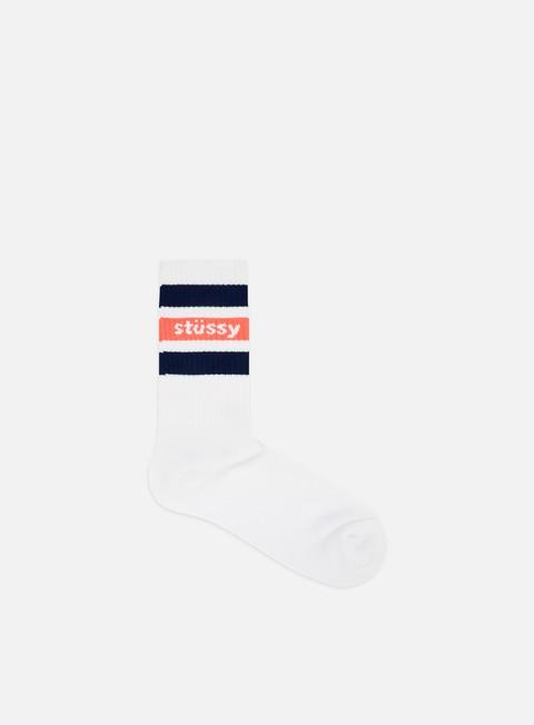 Calze Stussy Stripe Crew Socks