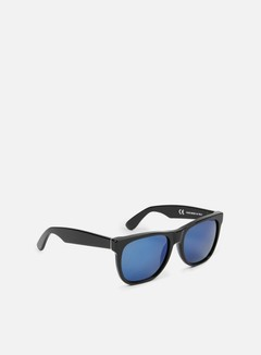 Super - Classic, Black/Blue Mirror