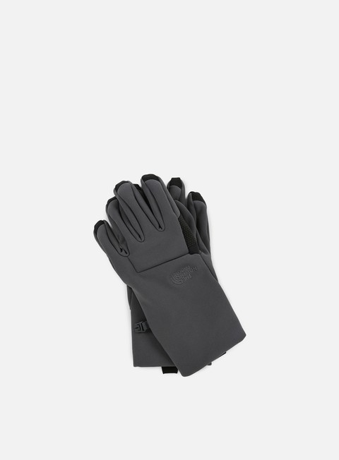 accessori the north face apex etip glove asphalt grey