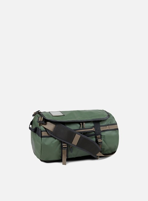 accessori the north face base camp duffel extra small thyme falcon brown