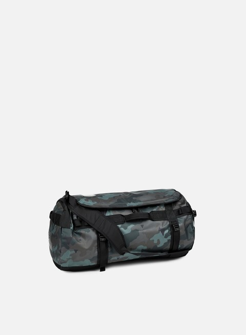 accessori the north face base camp duffel large camo print tnf black