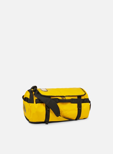 accessori the north face base camp duffel large summit gold tnf black