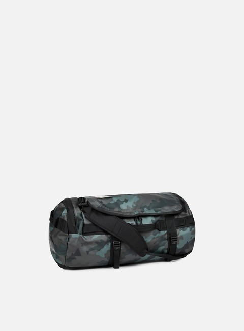 accessori the north face base camp duffel medium camo print tnf black