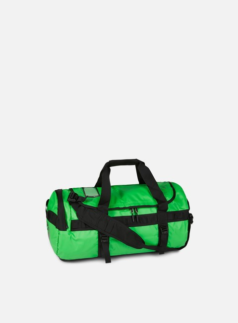 accessori the north face base camp duffel medium classic green tnf black