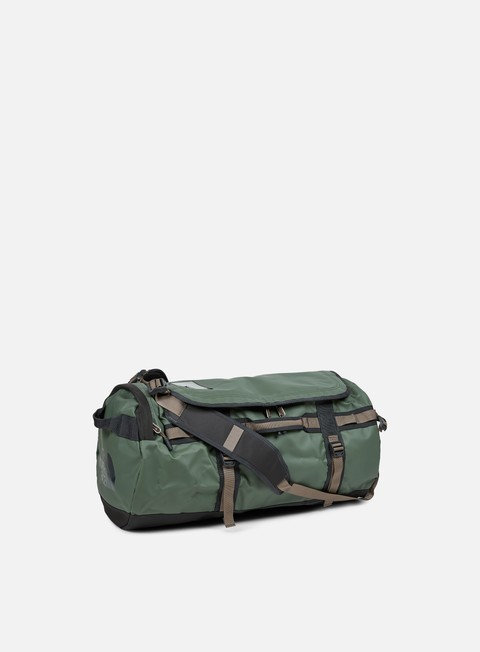 accessori the north face base camp duffel medium thyme falcon brown