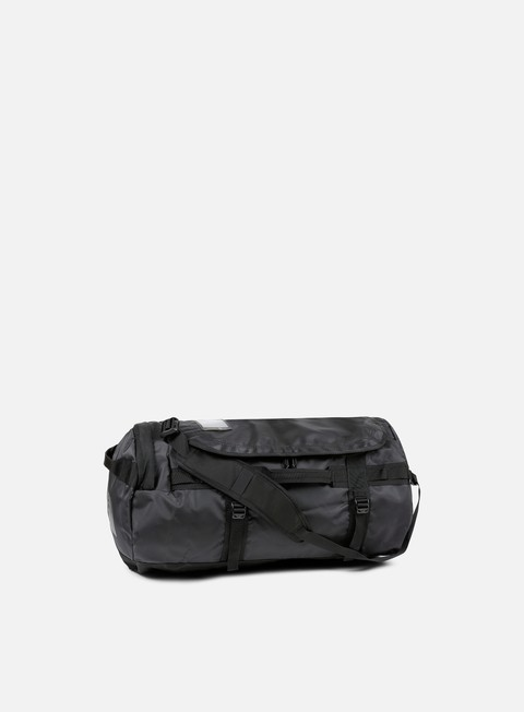 accessori the north face base camp duffel medium tnf black emboss 24k gold