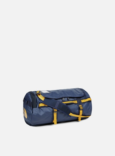 accessori the north face base camp duffel medium urban navy citrine yellow