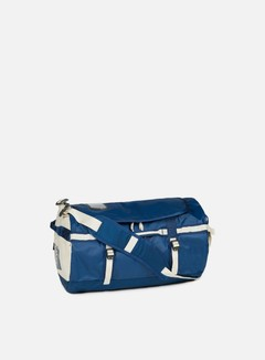 The North Face - Base Camp Duffel Small, Blue Wing Teal/Vintage White