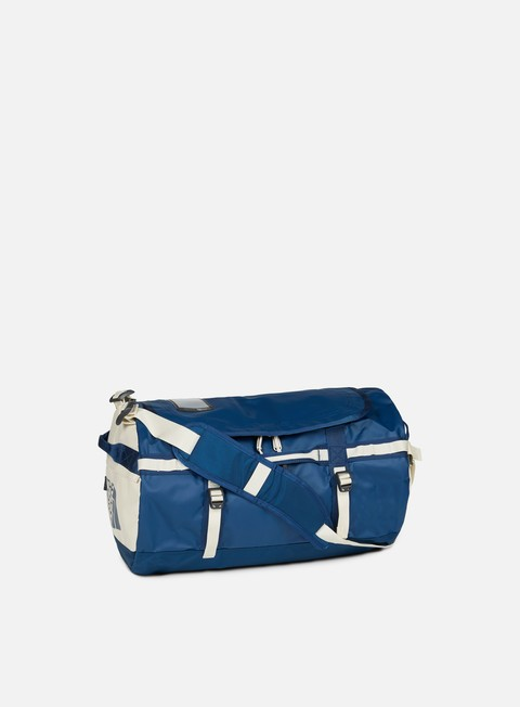 accessori the north face base camp duffel small blue wing teal vintage white