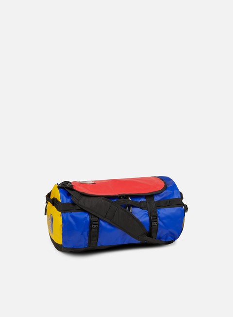 accessori the north face base camp duffel small bright cobalt tnf black