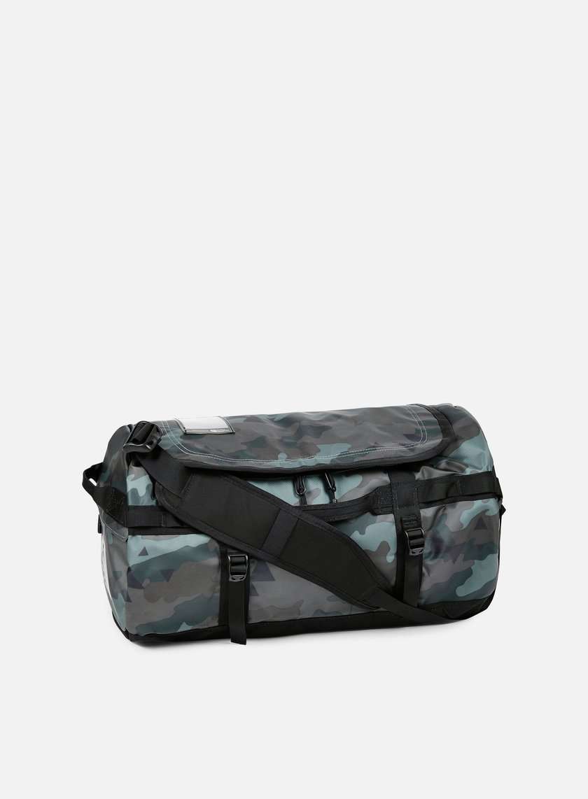 The North Face - Base Camp Duffel Small, Camo Print/TNF Black