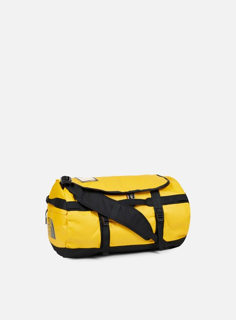 accessori the north face base camp duffel small summit gold tnf black