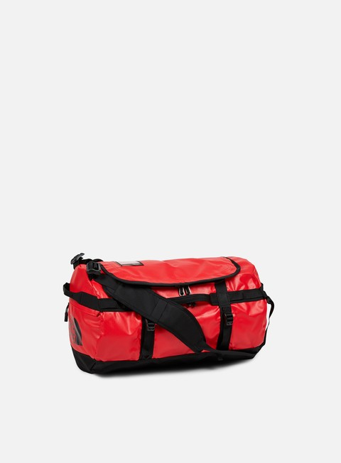 accessori the north face base camp duffel small tnf red tnf black