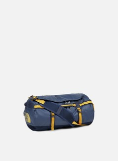 The North Face - Base Camp Duffel Small, Urban Navy/Citrine Yellow 1