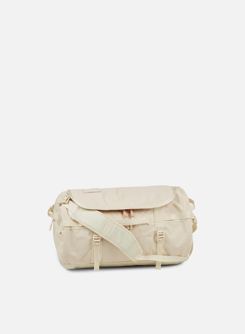 accessori the north face base camp duffel small vintage white burnt coral