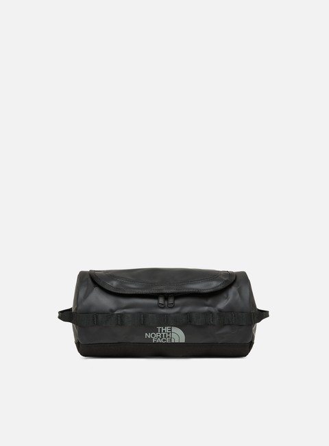 accessori the north face base camp travel canister large tnf black