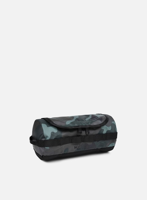 accessori the north face base camp travel canister small camo print tnf black