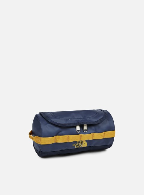 accessori the north face base camp travel canister small urban navy citrine yellow