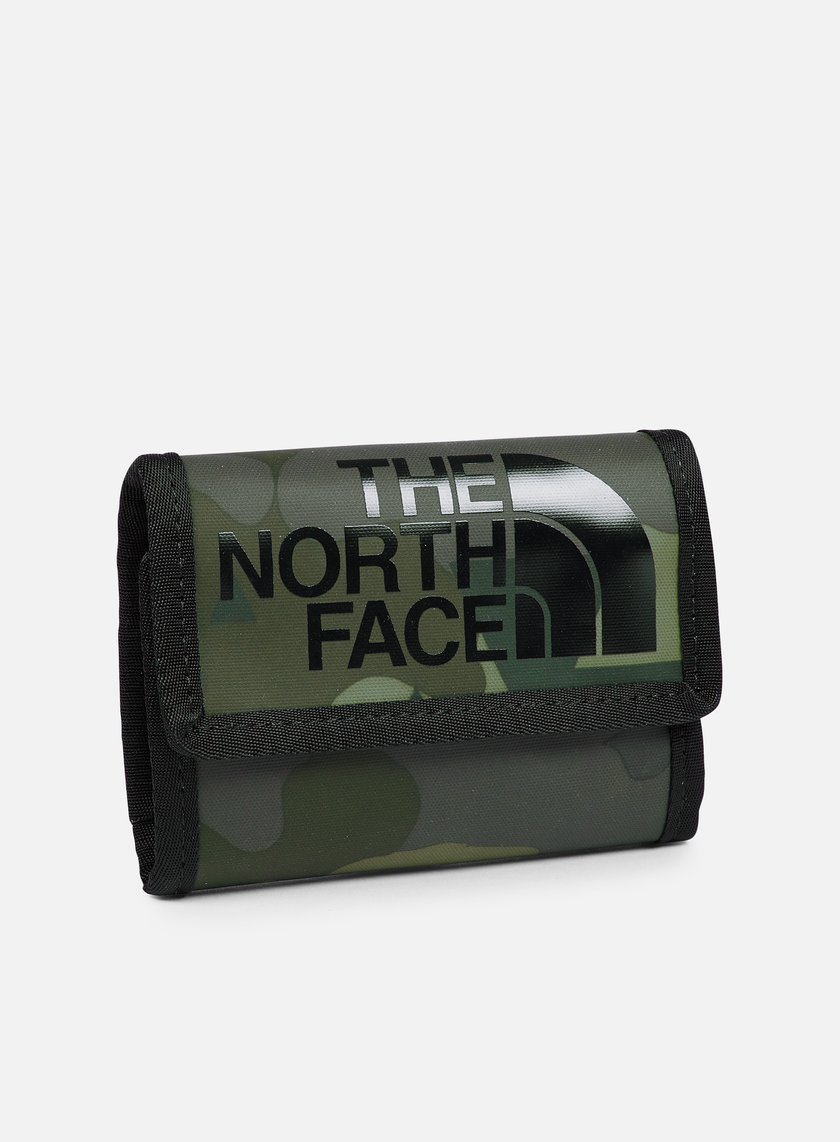 The North Face - Base Camp Wallet, Camo Print/TNF Black