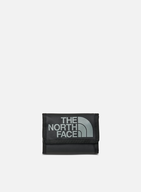 accessori the north face base camp wallet tnf black