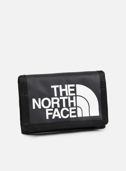 accessori the north face base camp wallet tnf black tnf white