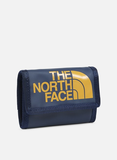 accessori the north face base camp wallet urban navy citrine yellow