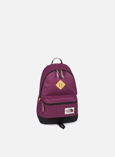 accessori the north face berkeley backpack crushed violets blue