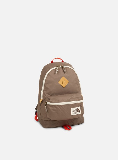 accessori the north face berkeley backpack falcon brown tibetan orange