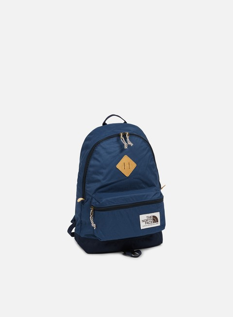 accessori the north face berkeley backpack shady blue urban navy