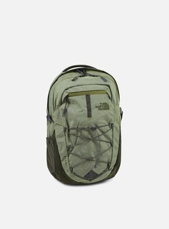 The North Face - Borealis Backpack, Terrarium Green Heather/Rosing Green 1